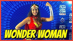 RICKSHAWALI TURNS INTO WONDER WOMAN | ComicCon Mumbai 2015 | CosPlay | #RickshawaliVlogs 2