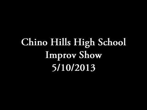 "Chino Hills High School ""Whose Line"" Improv Show 5-10-2013"