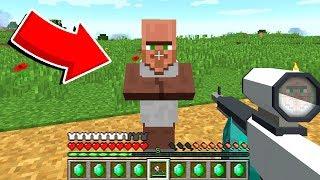 Как пройти Майнкрафт за Жителя? #14 - Скрафтил оружие в Майнкрафте