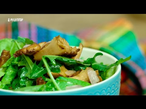 Рецепт Салат с лисичками и картофелем Рецепты от Рецептор