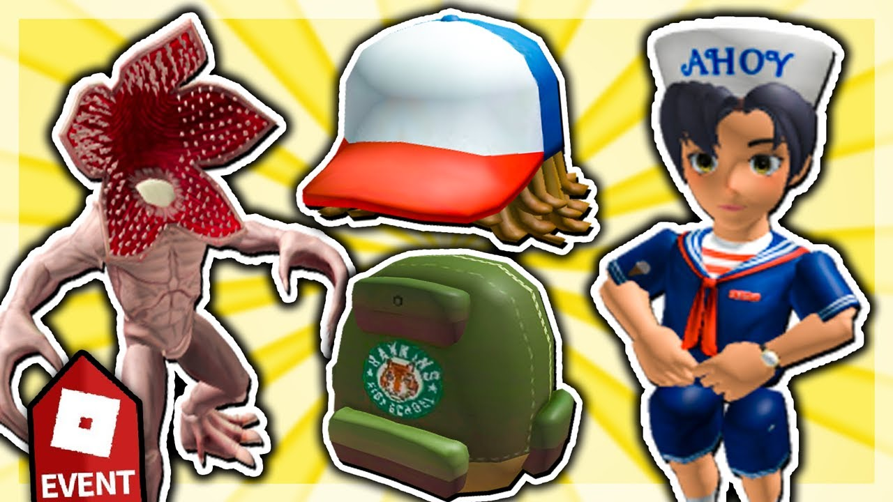Download How to get ALL ITEMS in STRANGER THINGS EVENT!! (Roblox Stranger Things: Starcourt Mall)