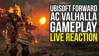 Assassin's Creed Valhalla Gameplay, Watch Dogs Legion, Far Cry 6 & More - Ubisoft Forward Reaction