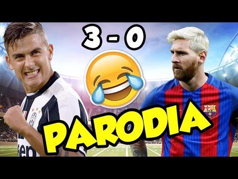 CANZONE JUVENTUS - BARCELLONA 3-0 (PARODIA Enrique Iglesias - subeme la radio)