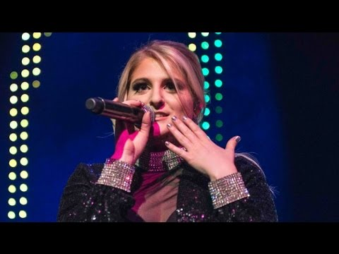 MEGHAN TRAINOR and 'That Bass Tour'; brings fans on stage