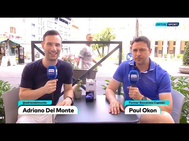 Adriano on Optus Sport (05/07/21)