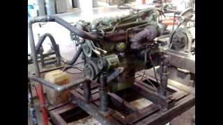 Mercedes 1017 Engine Sound and Revs