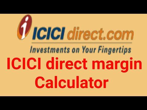 icicidirect- margin calculator