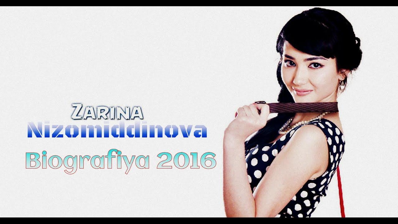 Zarina Nizomiddinova Biografiya 2016, Зарина Низомиддинова Биография 2016,