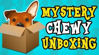 Mystery Chewy Haul Unboxing - ALL DOG PRODUCTS! - Dog Clothes, Grooming, and Toys