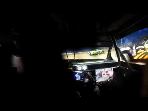 8-26-16 Luxemburg Speedway Stock Car Heat In-Car