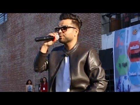 Punjabi Rising Singer AKHIL Performed at Lovely Professional University