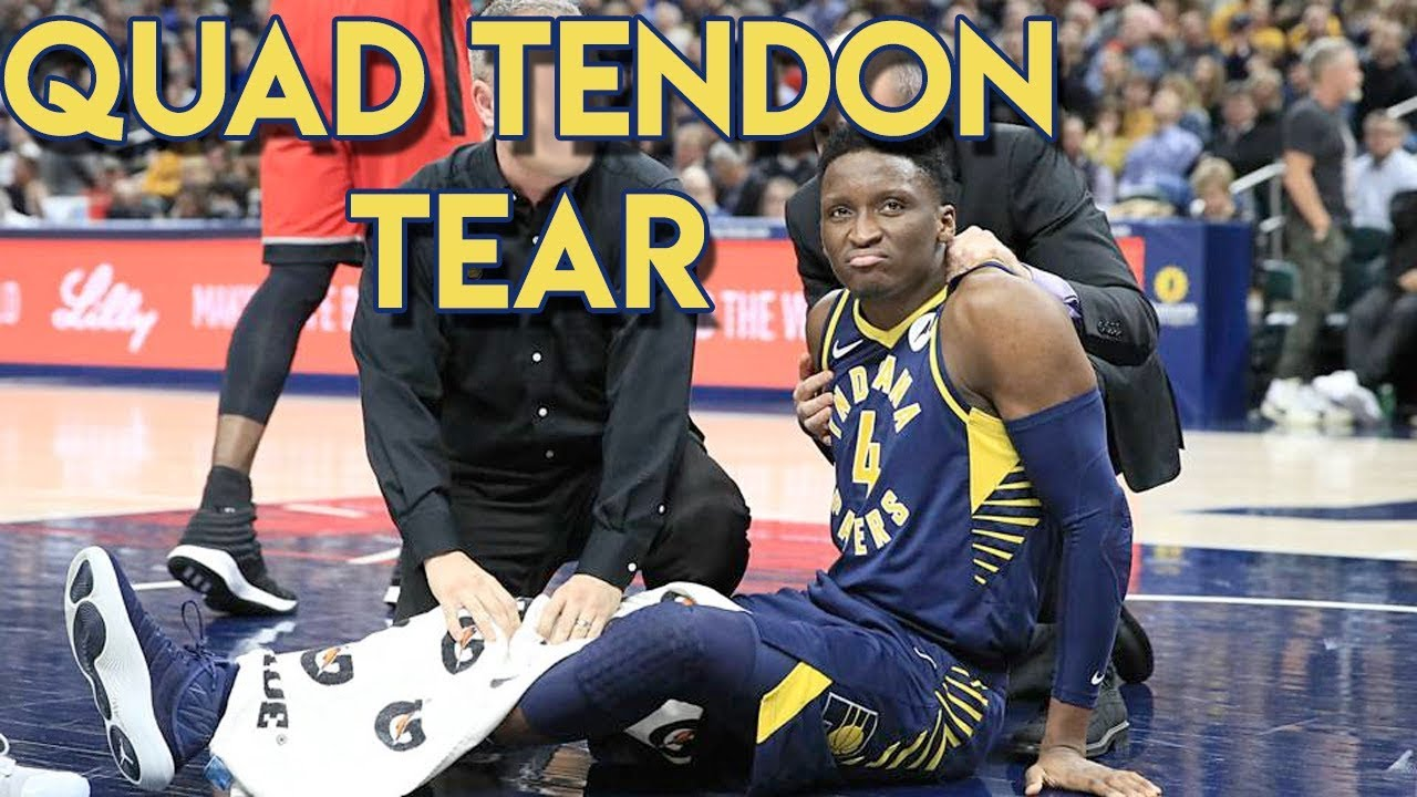 Pacers' Victor Oladipo out for season with ruptured quad tendon in knee
