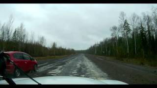 дорога Кодинск Красноярск 693 км  за 138 секунд