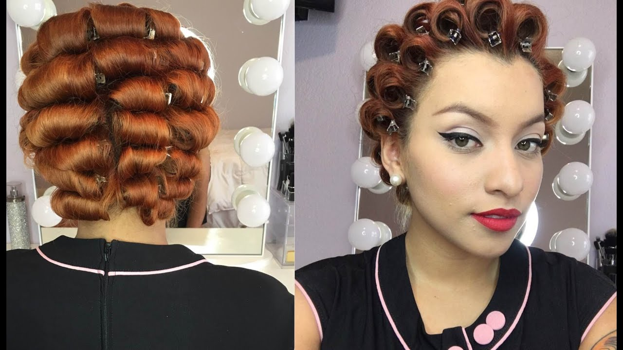 Pin curl set part one youtube pin curl set part one urmus Gallery