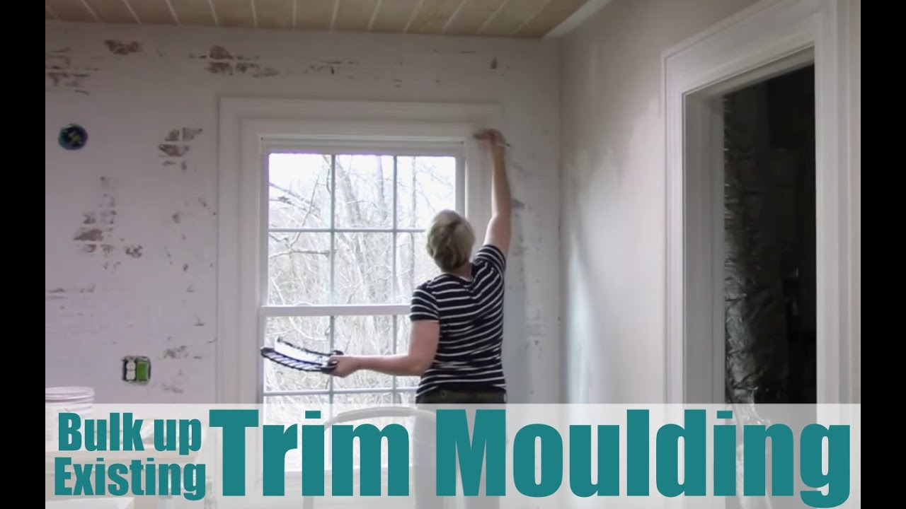 Bulk Up Existing Door And Window Casings   Trim Molding