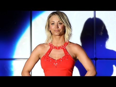 Kaley Cuoco Strips Down For Charity, Performs 'Grease' With 'The Big Bang Theory' Cast
