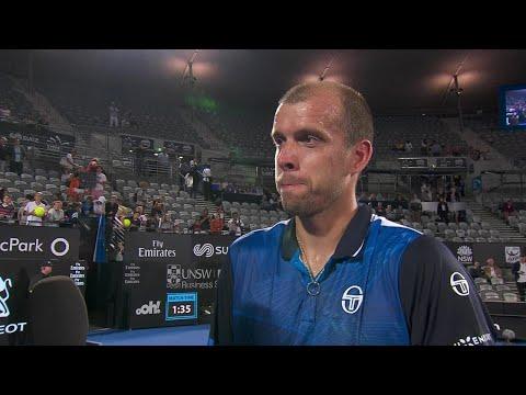 Gilles Müller On Court Interview (R2) | Sydney International 2018