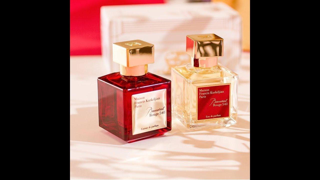 Mfk Baccarat Rouge 540 Extrait De Parfum 2017 Youtube