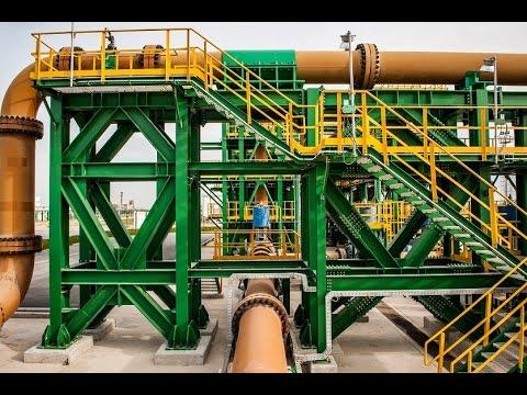 Le Slurry pipeline d'OCP