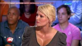 Tatiana-Laurence DELARUE vs Christophe Hondelatte (Direct8/ 10 - 2011)