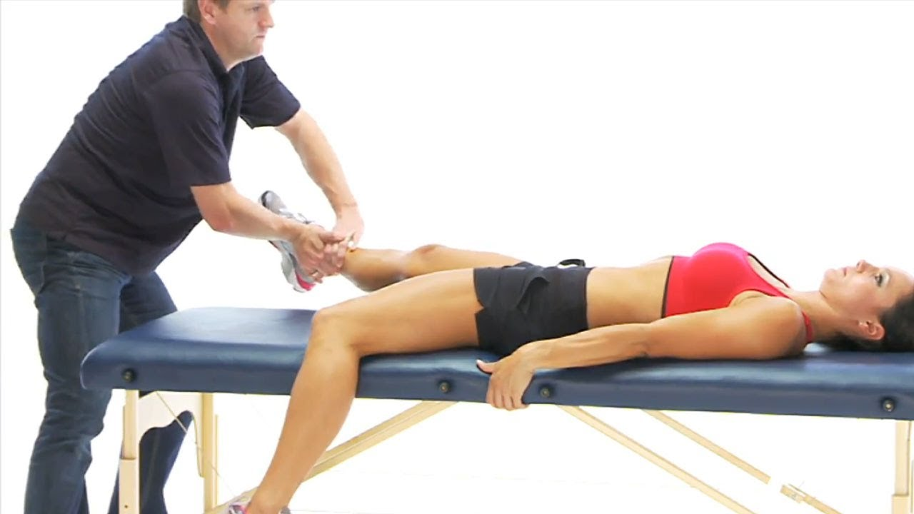 Groin exercise - Eccentric adduction - YouTube