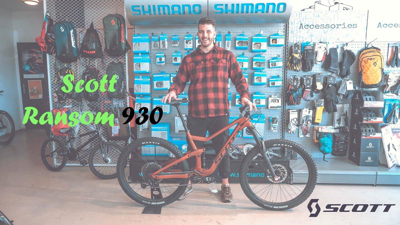 Scott Ransom 900/700 Tuned 2019: mtb biammortizzata