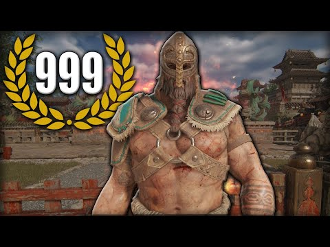 [For Honor] THIS HAS TO BE THE STRONGEST SMURF EVER - Warlord Duels