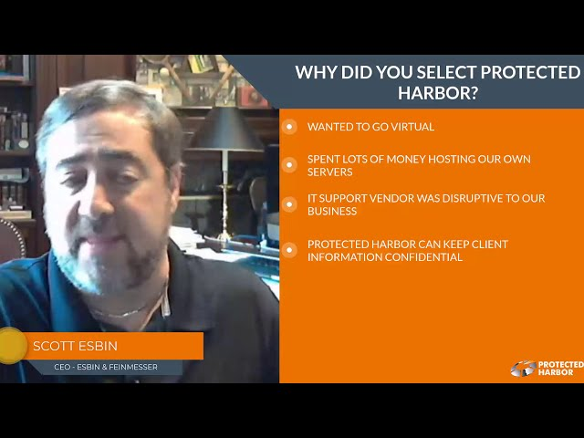 Why did you select Protected Harbor?