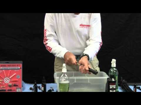 How to Clean an AR15 with Bill Rogers Bore Squeeg-E Ultimate Gun Cleaning Kit