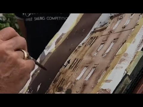 Joseph Zbukvic Watercolor Workshop In Aquarelle Art Studio