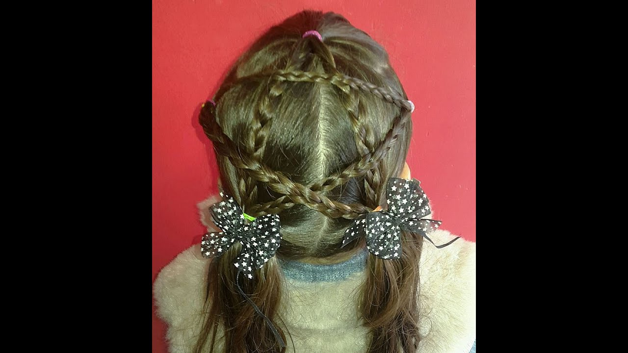 Get Yours Today At Ninas South Abington: Peinado Fácil De Estrella Para Niñas / Easy Hairstyle For