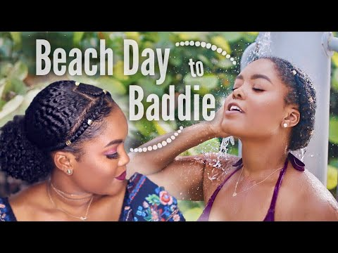 Beach Day to Date Night Hair Routine   Last Days of Summer!