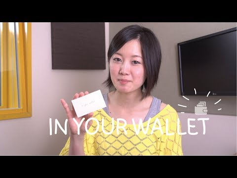 Weekly Japanese Words with Risa - In your Wallet (Việt Sub)