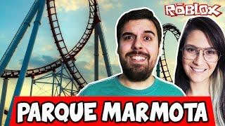 MARMOTA AMUSEMENT PARK! -ROBLOX (Theme Park Tycoon 2)