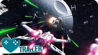 STAR WARS: BATTLEFRONT Todesstern Trailer German Deutsch (2016) PS4, Xbox One, PC Game