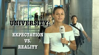 University: Expectation VS. Reality| Uniflash outside HS18 #5
