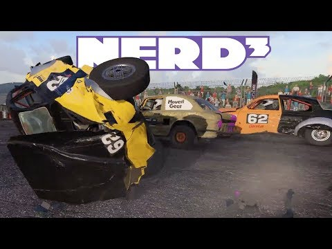 Nerd³ Explodes Cars - Wreckfest - 25 Mar 2018