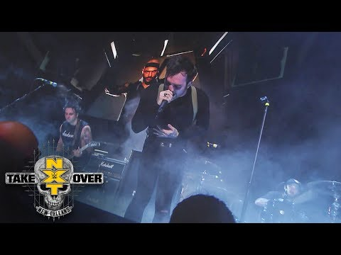 Cane Hill performs live at the start of NXT TakeOver: New Orleans (WWE Network Exclusive)