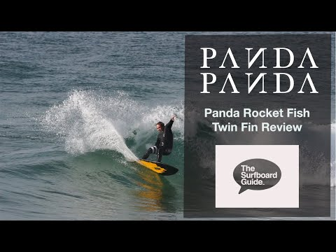 Panda Surfboards Rocket Fish + Futures Rasta Twin Fin Review - The Surfboard Guide