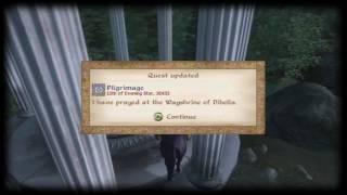 Oblivion: Knights of the Nine Walkthrough Part 1: Pilgrimage [1/2]