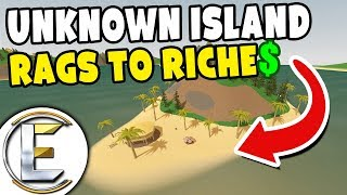 Unknown Island - Unturned Roleplay Rags to Riches #72 (Mystery island in the middle of the sea)
