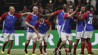 Football: Tribute match to France 1998 honors team 20 years on