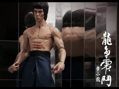 Enter The Dragon Hot Toys DX-04 Bruce Lee 1/6 Scale Movie Masterpiece Figure Review