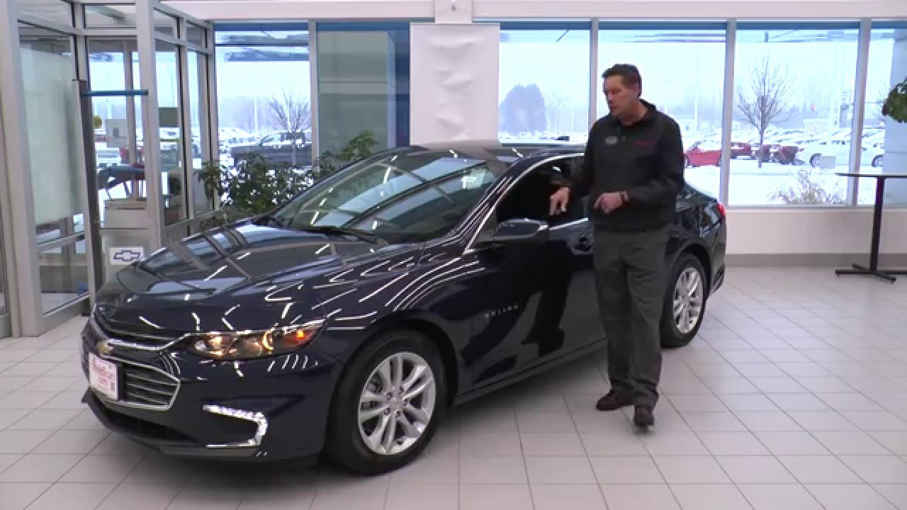 The All New 2016 Chevrolet Malibu Is At Rydell Chevrolet Buick GMC Cadillac  In Grand Forks ND