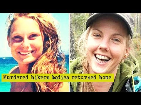 Bodies of murdered Scandinavian hikers flown back from Morocco