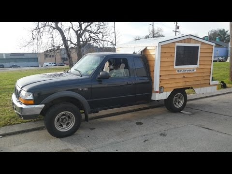 Tiny House on a Pickup Truck