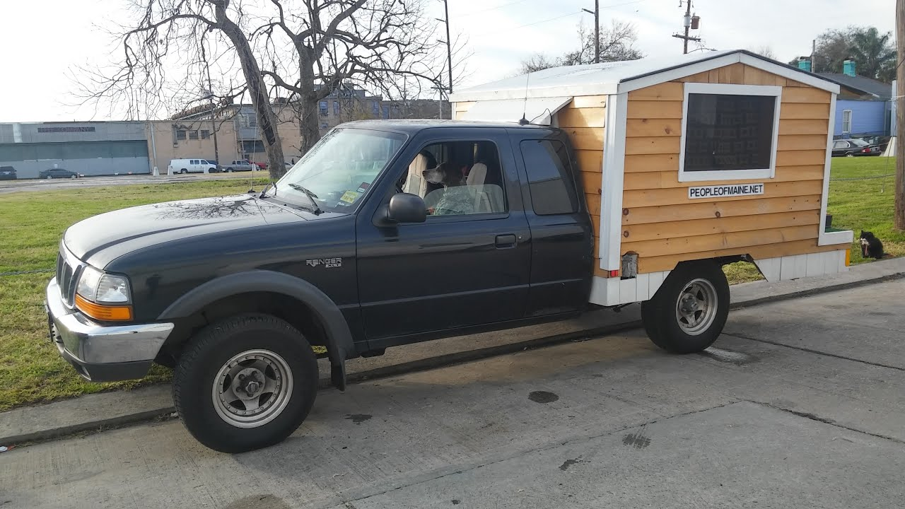 pretty tiny pickup truck. Tiny House on a Pickup Truck  YouTube