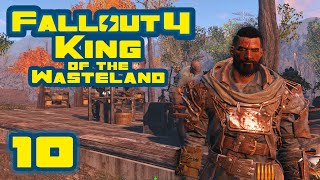 Let's Play Fallout 4: King of the Wasteland Challenge - Part 10 - Comical Amounts Of Drugs