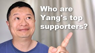 #Yang2020 Campaign Update [Includes voter analysis, best and worst supporters]