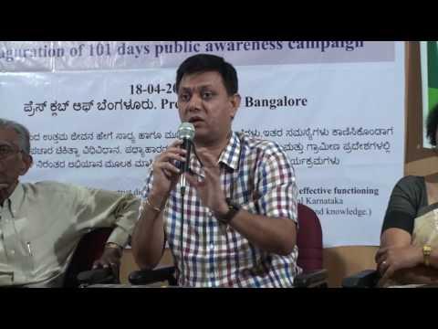 Miracle drinks press meet at Bangalore Press Club